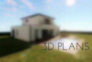 Image of the 3D PLANS menu