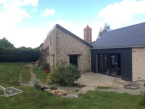Picture renovation of stone house